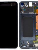 LCD Samsung Galaxy S10 G973, dotyk s čiernym krytom originál