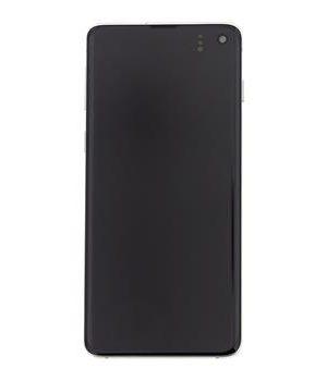 LCD Samsung Galaxy S10 G973, dotyk s bielym krytom originál