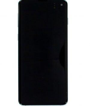 LCD Samsung Galaxy S10 G973, dotyk s zeleným krytom originál