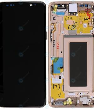 LCD Samsung Galaxy S9 G960F a dotyk s krytom zlatým Originál